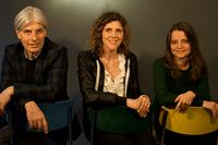 Le team du JULL : Junges Literaturlabor Richard Reich, Gerda Wurzenberger et Irene Eichenbergere