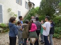 La résidence de Benoît Vincent au collège La Vallée d'Avon
