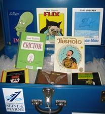 Les valises littéraires et bilingues