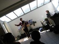 Concert dans un collège