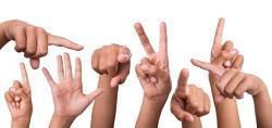 la Langues des signes