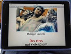 Des rires qui s'éteignent / Philippe Lacoche. Editions Ecriture.
