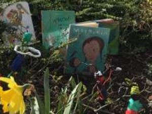 De l'art et des livres pour les enfants en très grande difficulté de développement