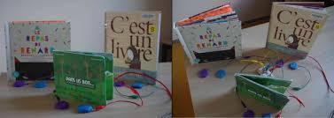 Des livres, des images et des sons